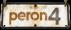 Peron4 - podróże, kultura, styl życia, logo