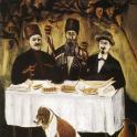 Obraz Niko Pirosmaniego Feast of Three Noblemen