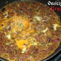 Jajecznica z orzechami po gruzińsku (potrawa wegetariańska)
