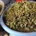 Dżondżoli, kiszone kwiatostany kłokoczki