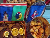 Wyszywanki, pierniczki i ciasteczka świąteczne