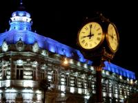 Zegar uliczny w Batumi, Adżaria [zdjęcie Przemek Galant]