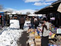 Wiejski bazar w Kushi
