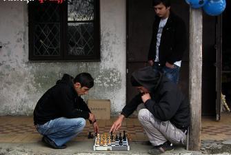 Uliczna gra w szachy