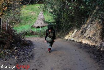 Anna na drodze w górę, Gegelidzeebi, Adżaria
