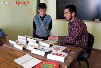 Lekcja angielskiego w szkole gruzińskiej (Giorgi Vardosanidze)(1)