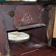 Pieczenie chaczapuri w piecu na keci