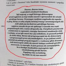 Strona z książki Pakosińskiej Georgialiki - toast gruziński o oswajaniu mężczyzn