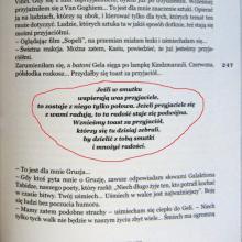Strona z książki Pakosińskiej Georgialiki - toast gruziński za przyjaciół