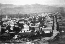Panorama miasteczka Katharinenfeld sprzed 1941r. (dzisiaj Bolnisi)