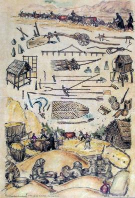 Rolnictwo w Gruzji (szkic etnograficzny Nino Brailashvili)