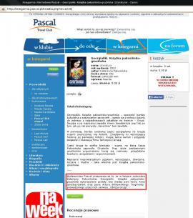 Przeprosiny Wydawnictwa Pascal pod opisem książki Georgialiki [15 stycznia 2015]