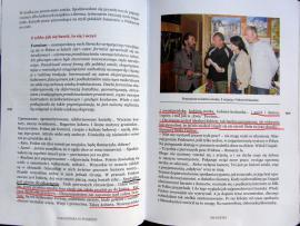 Strona z książki Pakosińskiej Georgialiki - rozdział z Fridonem Nizharadze