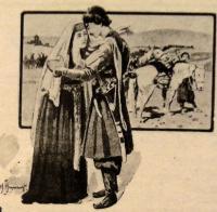 Henryk Hryniewski - ilustracja do utworu Kartlis Deda, Ilia Chavchavadze