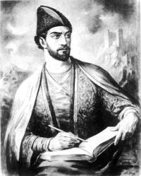 Portret poety gruzińskiego Szoty Rustaweliego