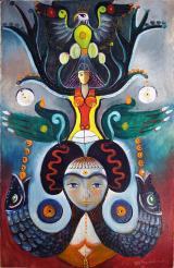 Jeden z symbolicznych obrazów Fridona (1)