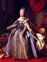 Portret cesarzowej Rosji Katarzyny II Wielkiej