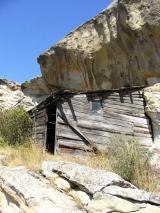 Domek pustelnika w skalnym mieście