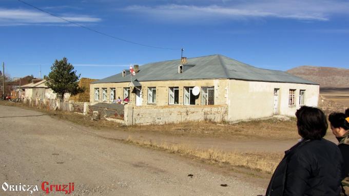 Szkoła gruzińska w wiosce Sameba, Dżawachetia
