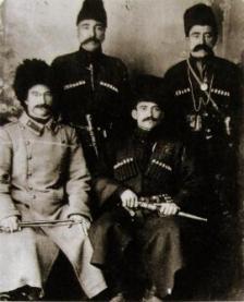 Oshora, rejon Adigeni, Gruzja, 1901 - fotografia archiwalna